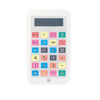 Calculatrice iTablet Petite-Couleur-Blanc