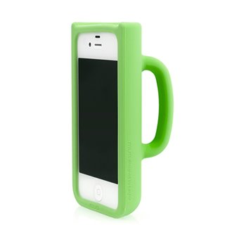 Coque iPhone 4/4S Tasse-Couleur-Jaune