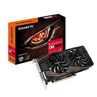 Carte Graphique Gaming Gigabyte VGA AMD RX 580 8 GB DDR5