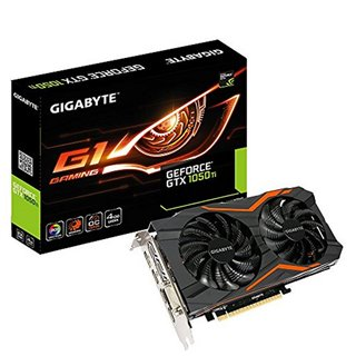 Carte Graphique Gaming Gigabyte VGA NVIDIA GTX 1050 Ti 4 GB DDR5