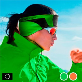 Bandeau de Sport avec Écouteurs GoFit-Couleur-Vert