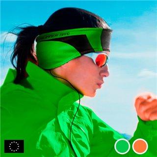 Bandeau de Sport avec Écouteurs GoFit-Couleur-Orange
