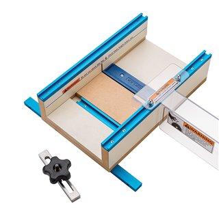 Gabarit petite pièce pour scie circulaire - 305 X 394 x 89 mm (12'' x 15-1/2'' x 3-1/2'')