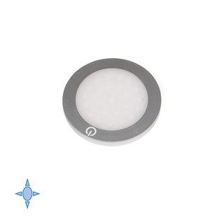 Kit de 3 spots LED ultra plats Hidra Emuca avec convertisseur de 15W
