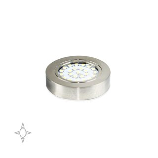 Spot LED Crux-in Emuca avec support et lumière naturelle