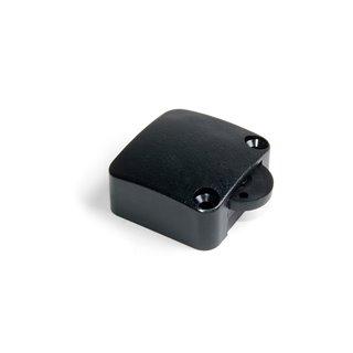 Interrupteur Emuca pour porte en plastique noir