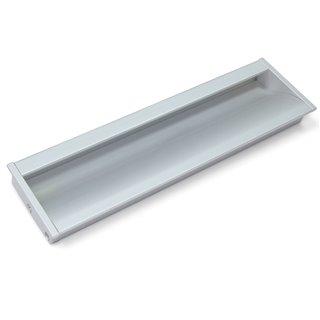 Poignée pour meuble Bologna Emuca en aluminium anodisé mat avec entraxe 160 mm