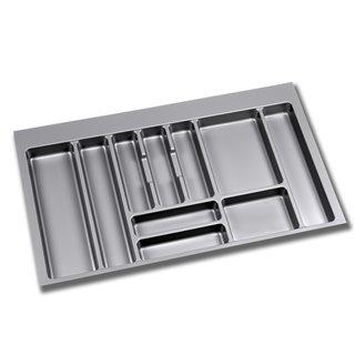 Range-couverts Optima Emuca pour tiroir Vantage-Q pour module 900 x 500 mm épaisseur 16 mm