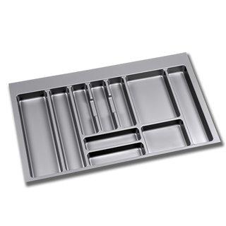 Range-couverts Optima Emuca pour tiroir Vantage-Q pour module 900 x 500 mm épaisseur 18 mm