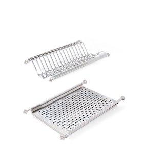 Égouttoir Emuca pour module de cuisine 500mm en acier inoxydable