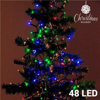 Lumières de Noël Multicouleur (48 LED)