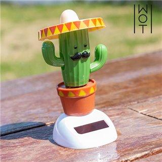 Cactus Solaire avec Mouvement Wagon Trend