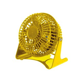 Ventilateur De Table - Ø 10 Cm - Jaune