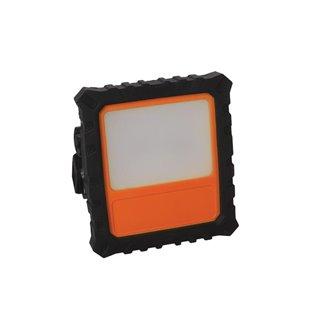 Projecteur De Chantier Rechargeable Led - 10 W / 700 Lm - Avec Fonction Variateur