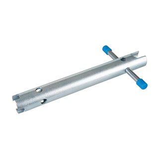 Clé pour robinet d'arrêt encastré - 225 mm