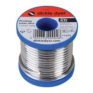 Fil à souder de plomberie - 3,25 mm / 500 g