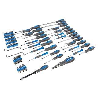 Coffret de tournevis et accessoires, 100 pcs - 100 pcs