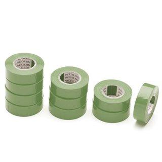 Nitto - Ruban Adhesif Isolant - Vert - 19 Mm X 10 M