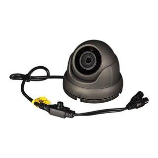 Caméra Multi Protocoles - Hd-Tvi / Cvi / Ahd / Analogique - Extérieur - Dôme - 1080P - Gris