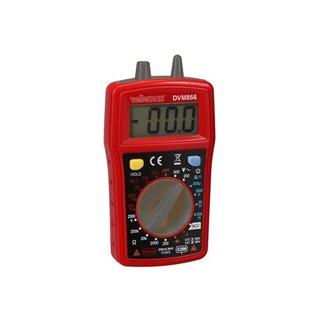Multimètre Numérqiue - Cat Iii 300 V / Cat Ii 500 V - 10 A - 1999 Points - Ncv / Led / Data Hold / Rétroéclairage  / Ronfleur