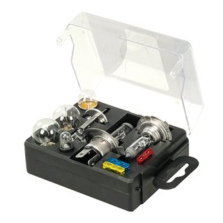 Kit universel d'ampoules et fusibles, 10 pcs - 10 pcs