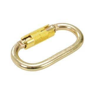Crochet à mousqueton autobloquant - Linguet de 21 mm
