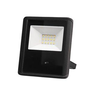 Projecteur Led D'Extérieur - 10 W, Blanc Neutre - Noir - Capteur À Micro-Ondes