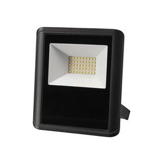 Projecteur Led D'Extérieur - 30 W, Blanc Neutre - Noir