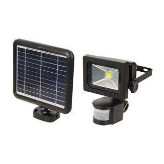 Lampe solaire LED avec détecteur PIR - 3 W COB