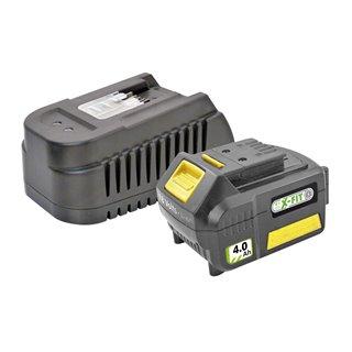 Kit batterie 4,0 Ah et chargeur rapide - Fartools XF-KIT-40