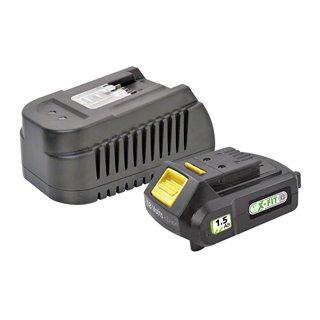Kit batterie 1,5 Ah et chargeur rapide - Fartools XF-KIT 15