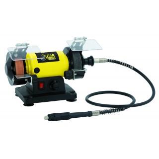 MBG 120  Puissance  120 W, Diamètre 75 MM, Diamètre 2 75 , Vitesse de rotation 0-9900 TR/MIN, Vitesse de rotation 2 0-9900 TR/MI