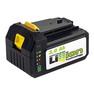 Batterie Tension 18 V - 3,0 AH - indicateur de charge