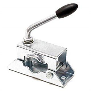 Bride acier de fixation pour roue jockey , Diamétre 35mm