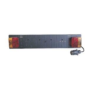 Rampe de signalisation pour portage vélo - ABS - Longueur 0.73m - Câble 1.5m