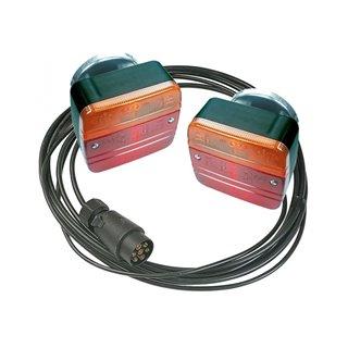 2 lanternes magnétiques - cable 7m