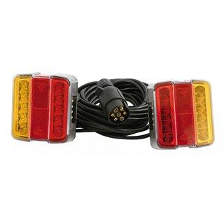 2 Lanternes led a fixer - Cable 7.50m