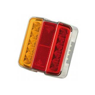 Lanterne 4 Fonctions - Orange/Rouge - Feu Led