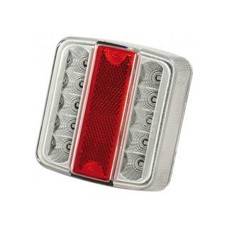 Lanterne 4 Fonctions - Blanc/Rouge - Feu Led