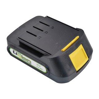 Batterie Tension 18 V - Ampérage de la batterie 1,5 AH - Type de batterie Li-ion