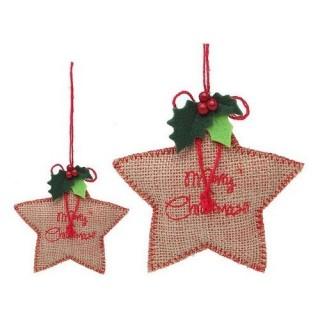 Decoration Etoile Merry Christmas