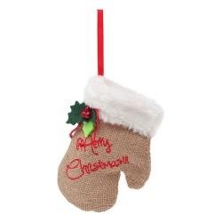 Decoration Gant Merry Christmas