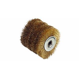 Brosse fil laitonée 0,3 mm Diamètre 120 MM