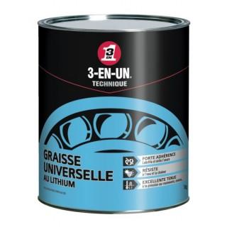 Graisse Lithium Univers.Pot 1Kg