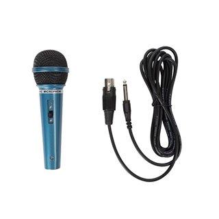 Microphone Dynamique - Bleu