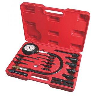 Coffret Compressiometre Moteur Diesel - 17 Pieces - Autobest
