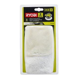 2 bonnets polissage & lustrage - Ryobi RAK2BB