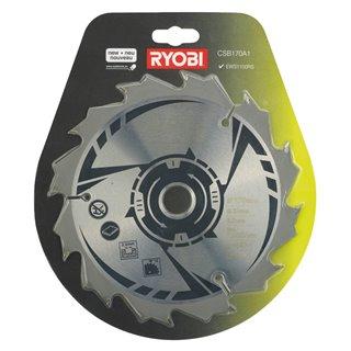 Lame pour scie circulaire RYOBI 170mm 12 dents - Ryobi CSB170A1