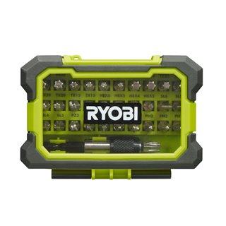 Coffret antichocs 32 accessoires couleur mixtes tous vissages - Ryobi RAK32MSD