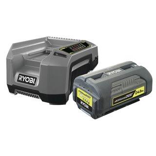 Pack chargeur rapide 5,0 A + 1 Batterie lithium+ 36V - 4,0 AH a energie regulée - Ryobi RBPK3640D5A
